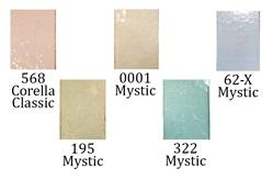 New glass! Lovely pale pastel cathedrals for spring from Wissmach!