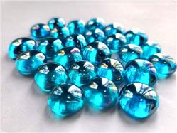 Special purchase: Small bag of light blue iridized gems