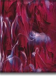 Spectrum Dark Purple Swirled with White, Wispy Fusible (349-6SF)