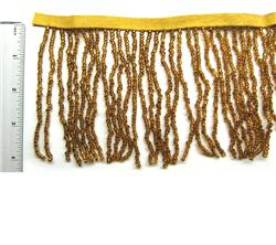 "4"" Gold Fringe, per foot"