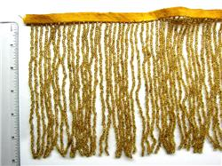 "6"" Gold Fringe, per foot"