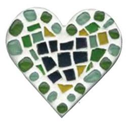 Small Mosaic Shape Kit - Heart