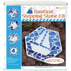 Nautical Mosaic Stepping Stone Kit